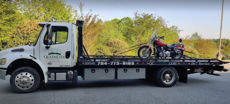 motorcycle towing Charlotte NC